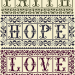 These Three Remain - Classic in vertical orientation | Original counted thread designs by Linda Stolz for Erica Michaels Designs | EricaMichaels.com
